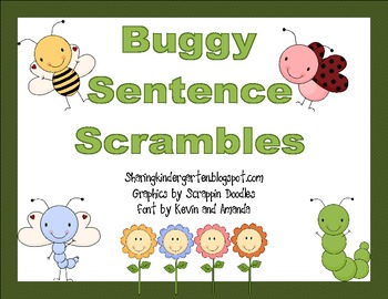 Buggy Sentence Scrambles