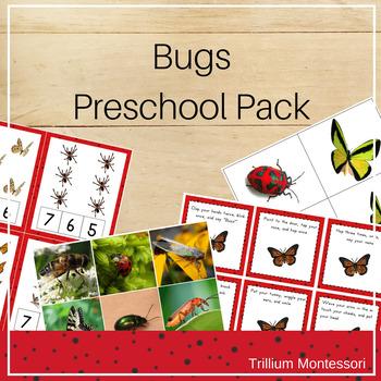 Bugs Preschool Pack