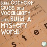 Build A Mystery Word ~ The Bundle ~ Interactive Word Work