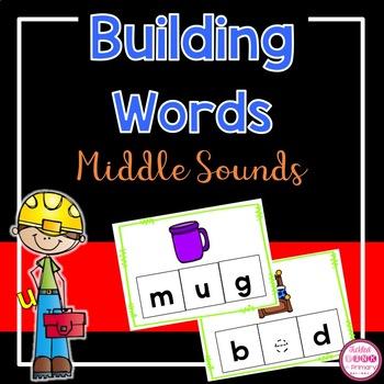 Build It Middle Vowel Sounds
