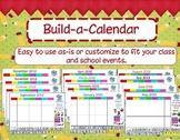Build a Calendar: Customized  Activboard Calendar - Update