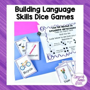 Building Language Skills: Dice Game Fun!