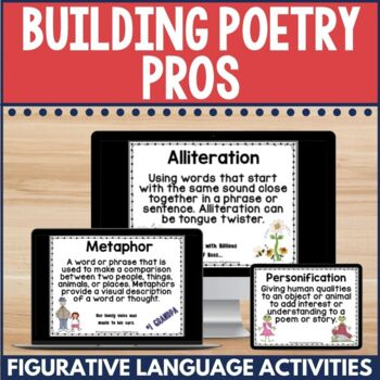 Building Poetry Pros with Poetic Devices and More