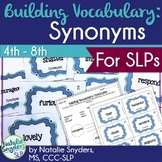 Building Vocabulary: Synonyms for Upper Elementary & Middl