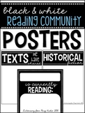 Building a Reading Community: Posters (BLACK & WHITE)