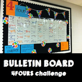 Bulletin Board Interactive 4Fours Challenge