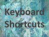 Bulletin Board MAC Keyboarding Shortcuts for Computer Labs