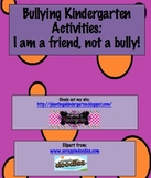Bullying Kindergarten Activities