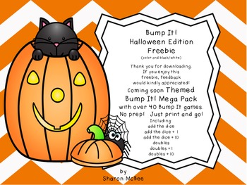 Bump It!  Halloween Edition Freebie