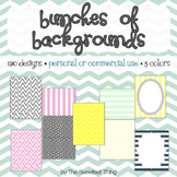 [Backgrounds Set #1] 120 Designs, Frames for Personal or C