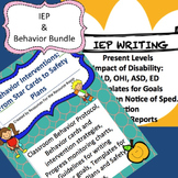 Bundle: Behavior Interventions/Plans, Present Levels and P