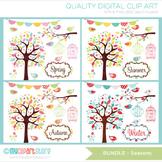Bundle Pack -  Seasons / Garden Clipart