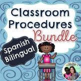Spanish Classroom Procedures Bundle