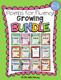 Bundle of Poems for Building Reading Fluency & Writing Sta