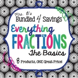 UPDATED!  Bundled For Savings - Everything Fractions: The Basics