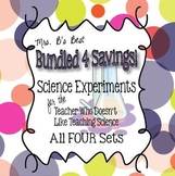 Bundled For Savings - Science Experiments for the Teacher