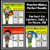Bundled Practice Makes Perfect Math