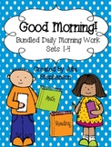 **Bundled Set** Daily Morning Work- Sets 1-4