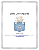 Bunny Counting By 2s