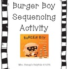Burger Boy - Sequencing Cards