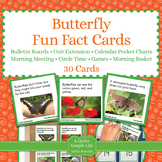 Butterfly Fact Cards - Fun Unit Extension Activity, Bullet