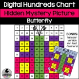 Butterfly Hundreds Chart Picture Activity for Spring and S