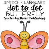 Butterfly {Speech & Language Dot Art}