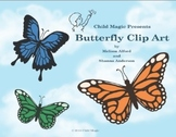 Butterfly and Moth Photo Clip Art Mini Pack