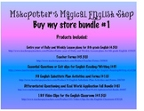 Buy My Store Bundle #1 forms, organizers, plans