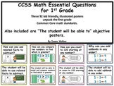 """CCSS Math Essential Questions and """"The student will be abl"""