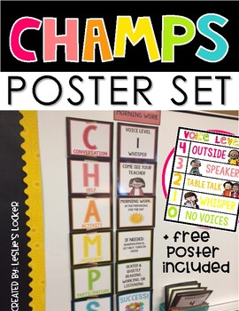CHAMPS Bulletin Board Set