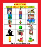 CHRISTMAS PUBLIC DOMAIN  CLIP ART IMAGES