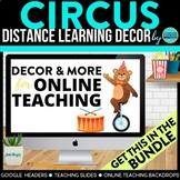 CIRCUS CARNIVAL Classroom Theme Kit