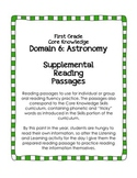 CKLA Domain 6: Astronomy {First Grade}