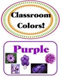 Artsy Teacher Cafe - COLORS  Set/11 *Multi-colors* POSTERS