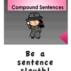 COMPOUND SENTENCES (GRADES 3 - 4)