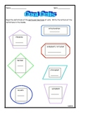 Cool Cells Plant and Animal Student Worksheets