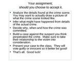 CSI Case Files