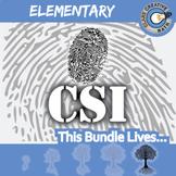 CSI: Elementary Math -- STEM Project -- Complete eBook