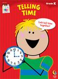Telling Time Stick Kids Workbook: Kindergarten