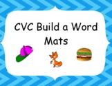 CVC  Build a Word Mats