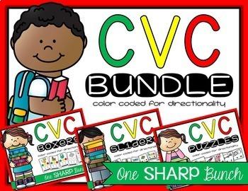 CVC Bundle {Phoneme Segmentation}
