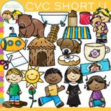 CVC Clip Art - Short U Word Family