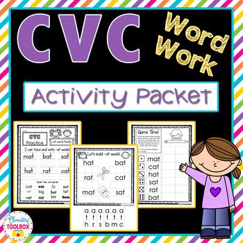 CVC Complete Practice Packet-No Prep