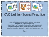 CVC Letter Sound Practice - Hands-on Literacy Centre
