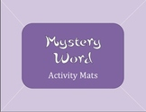 CVC Mystery Word Activity Mats