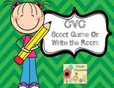 CVC Scoot Game or Write the Room
