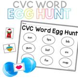 CVC Word Egg Hunt