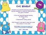 CVC Words BINGO!