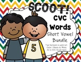 CVC Word Scoot: Short Vowel BUNDLE